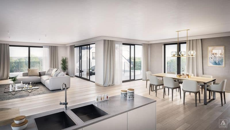Penthouse for sale in Braine L Alleud