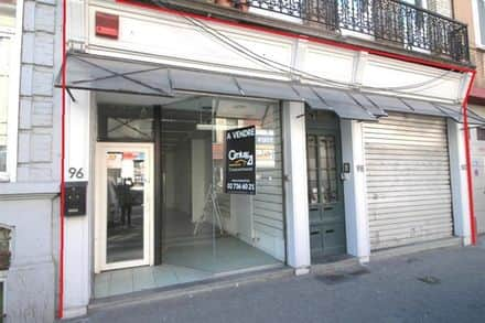 Business<span>80</span>m² for rent Brussels