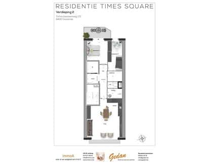 Apartment<span>70</span>m² for rent Ostend