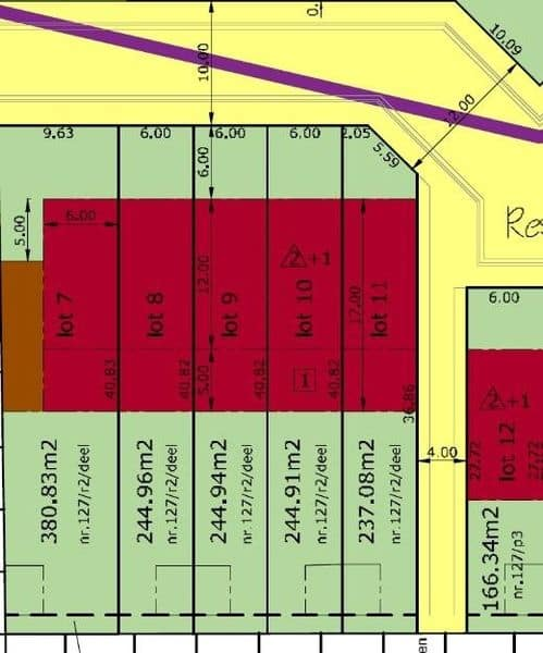 Land for sale in Niel