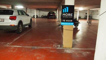 Parking ou garage à louer Knokke Heist