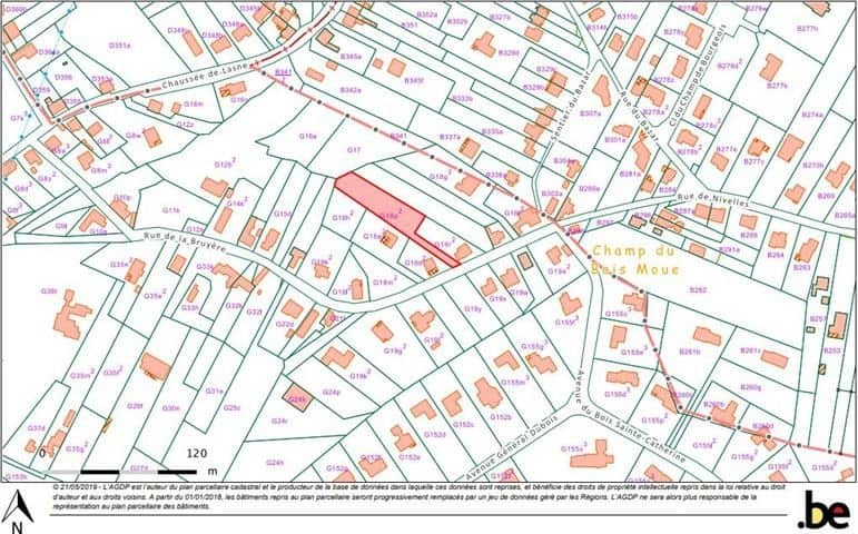 Land for sale in Lasne