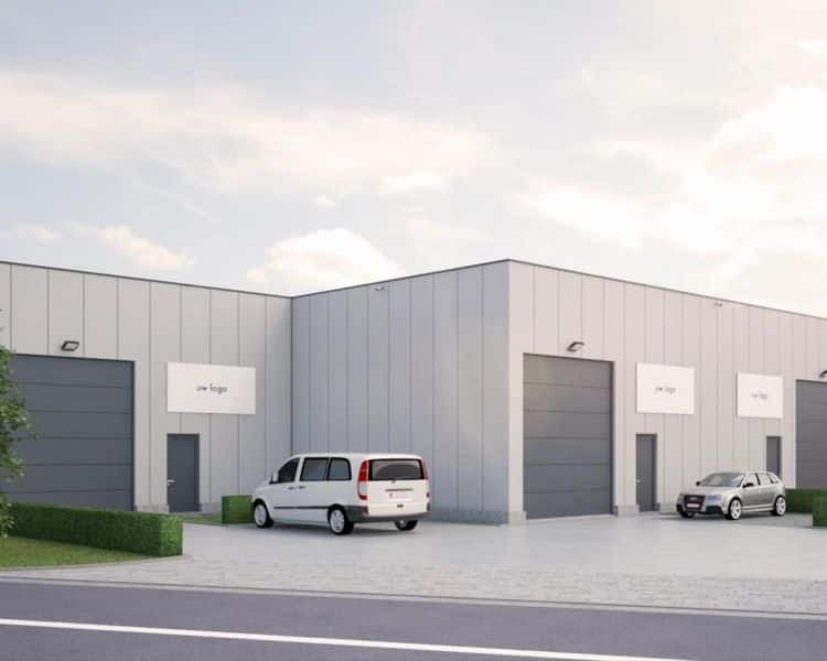 Warehouse for rent in Meulebeke