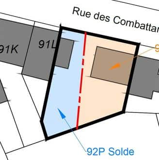 Land<span>270</span>m² for rent Wavre