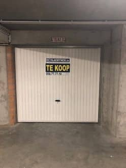 Parking space or garage for rent Nieuwpoort