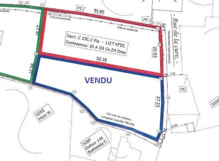 Land<span>1003</span>m² for rent