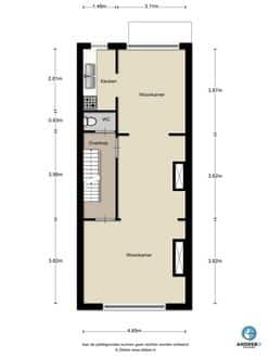 Apartment<span>213</span>m² for rent