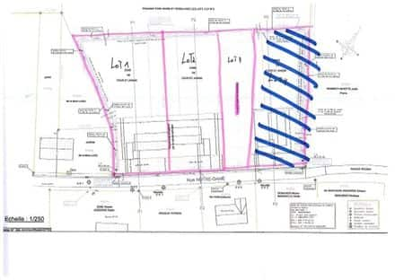 Building land<span>1218</span>m² for rent