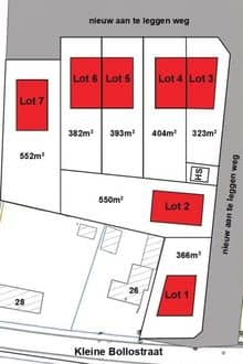 Land<span>550</span>m² for rent