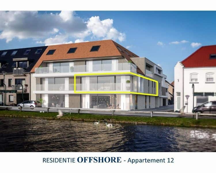Apartment for sale in Leffinge