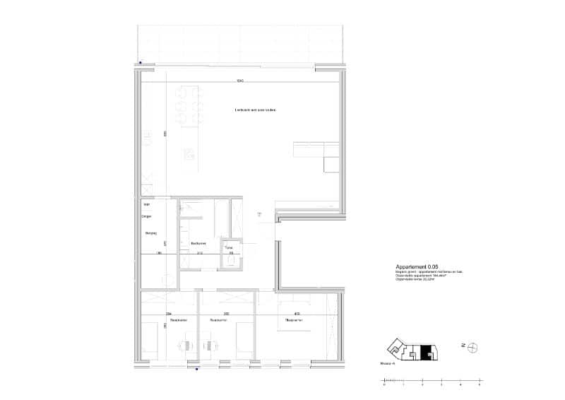 Apartment for sale in Lede