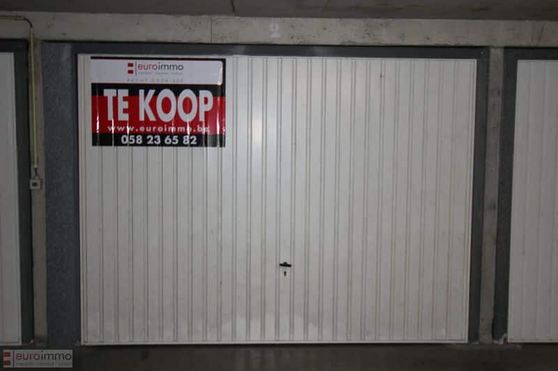Parking space or garage for sale in Nieuwpoort
