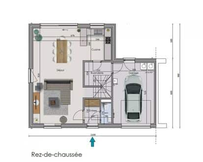 House<span>195</span>m² for rent