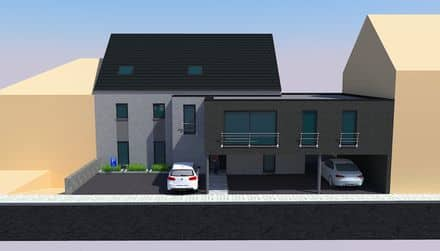 Appartement<span>68</span>m² te huur Courcelles