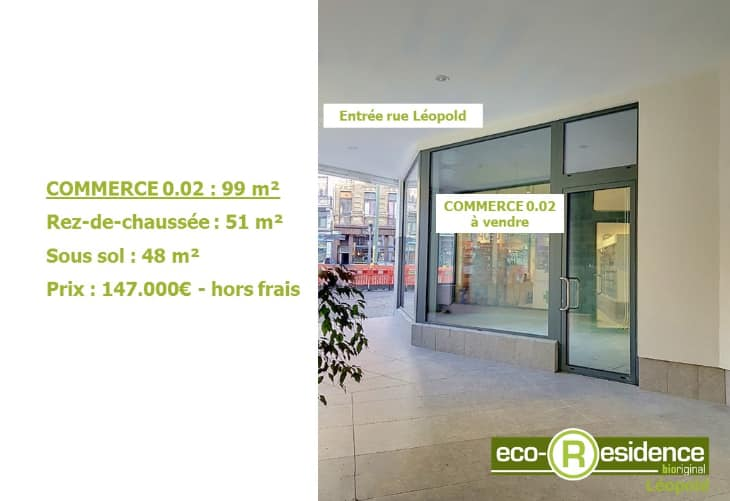 Retail space for sale in Liege