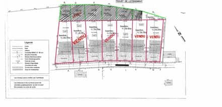 Land<span>1240</span>m² for rent Wasseiges