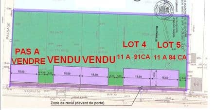 Land<span>1184</span>m² for rent