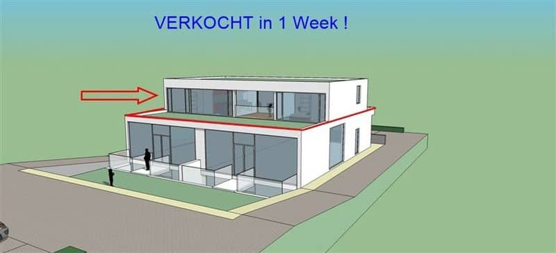 Penthouse for sale in Tongeren