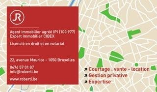 Jean Roberti, agence immobiliere Bruxelles