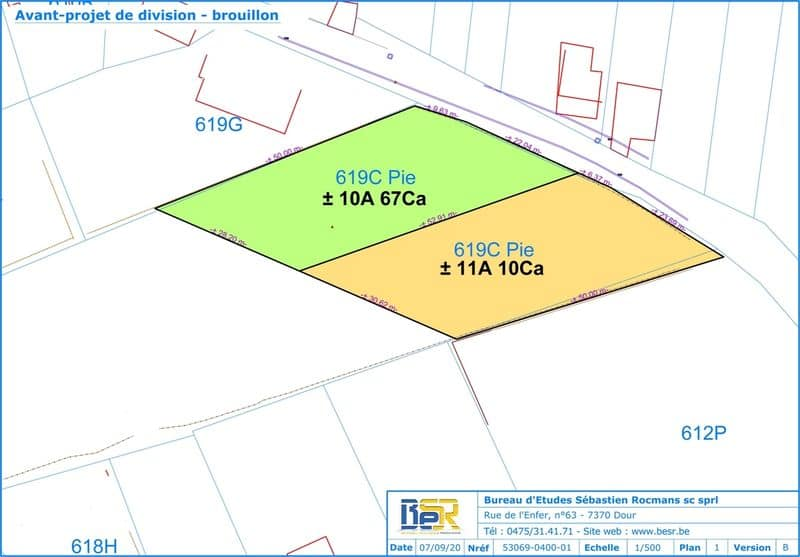 Land for sale in Roisin