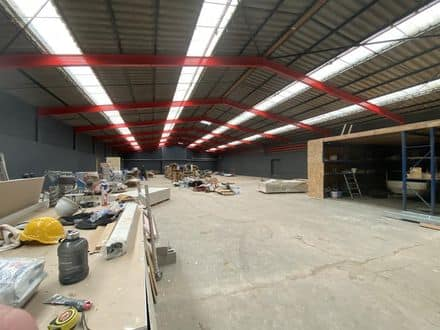 Warehouse<span>60</span>m² for rent Wavre