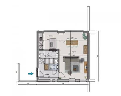 House<span>141</span>m² for rent
