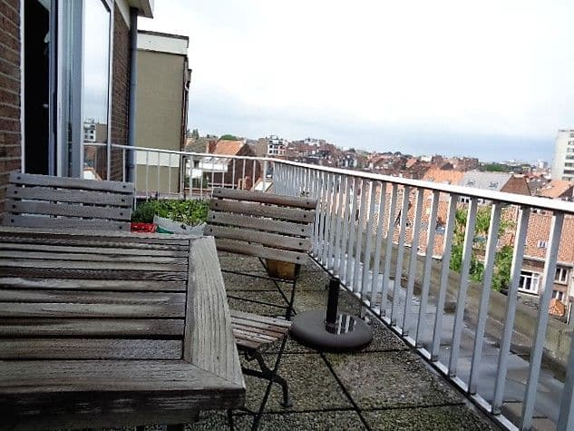 Penthouse te huur in Elsene