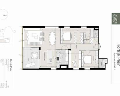 Apartment<span>145</span>m² for rent