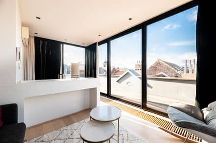Penthouse<span>140</span>m² for rent Brussels