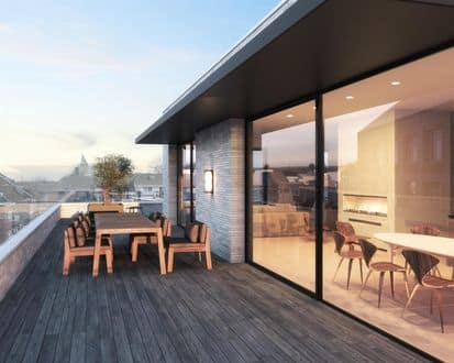 Penthouse<span>202</span>m² for rent
