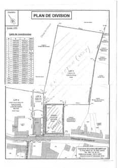 Land<span>2201</span>m² for rent Mons