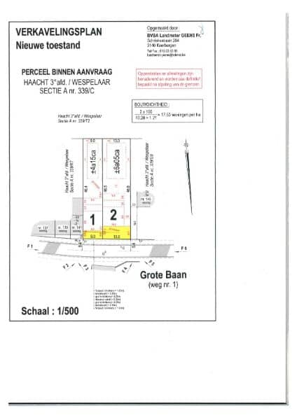 Land for sale in Haacht