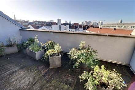 Penthouse<span>65</span>m² for rent Schaarbeek
