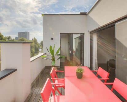 Penthouse<span>88</span>m² for rent Ghent