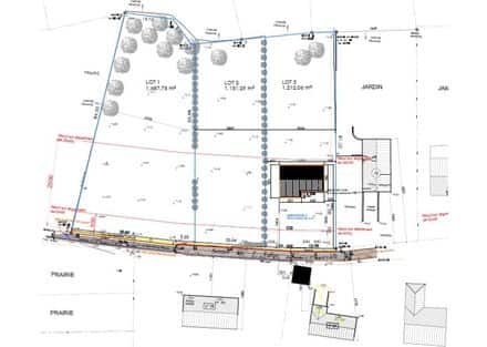 Land<span>1687</span>m² for rent Bouffioulx