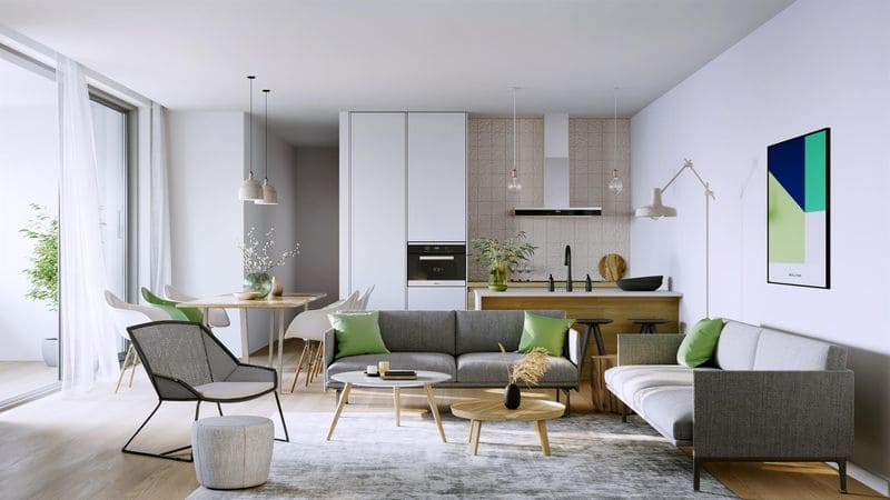 Apartment for sale in Sint Amandsberg