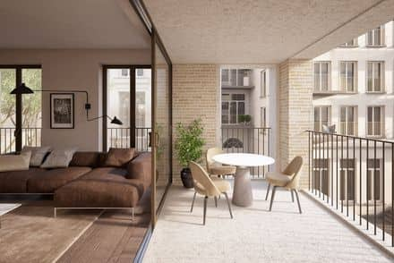 Apartment<span>123</span>m² for rent Ghent