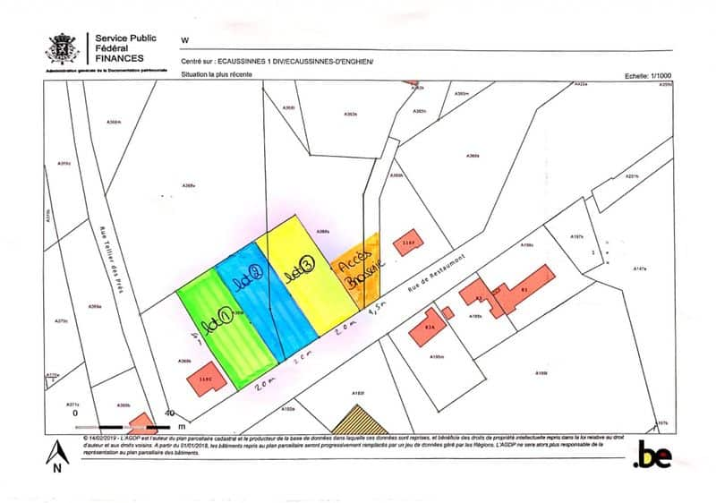 Land for sale in Ecaussinnes