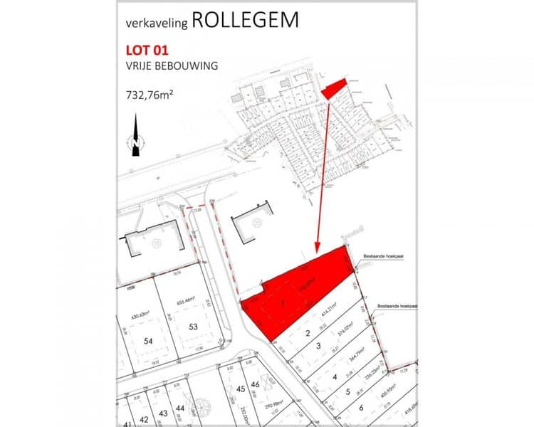 Land for sale in Kortrijk
