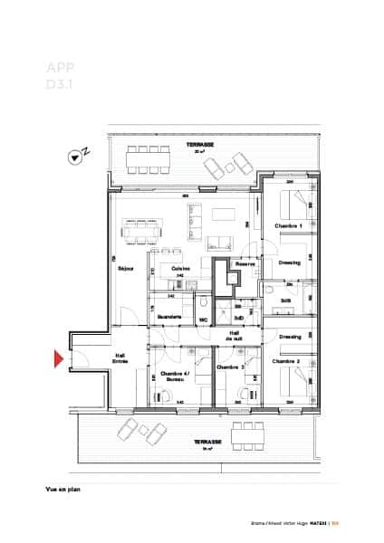 Apartment for sale in Braine L Alleud