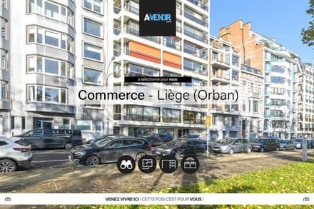 Office or business<span>195</span>m² for rent Liege