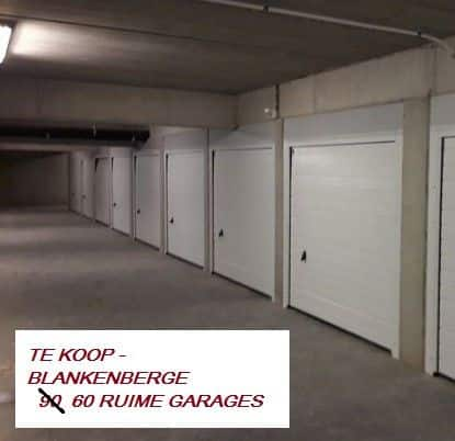 Parking ou garage à vendre à Blankenberge