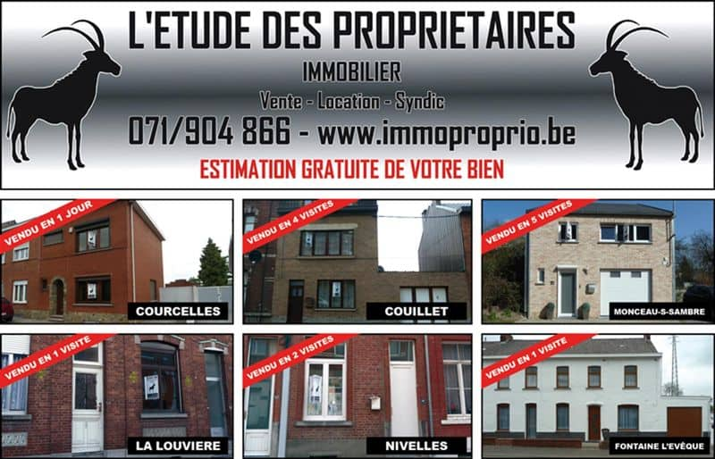 Office or business for rent in Monceau Sur Sambre
