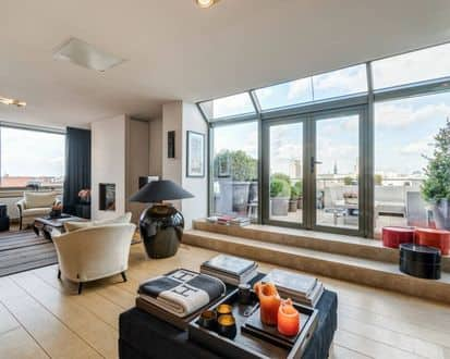 Penthouse<span>165</span>m² for rent