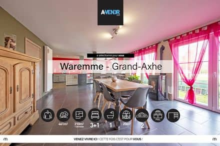 House<span>210</span>m² for rent Waremme