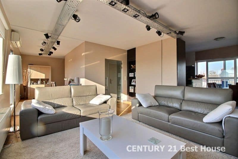 Penthouse à vendre à Neder-Over-Heembeek - 2 chambres - 95m² - 280 000 €