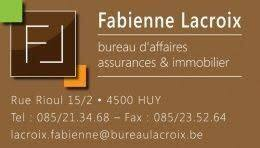 Fabienne Lacroix, real estate agency Huy