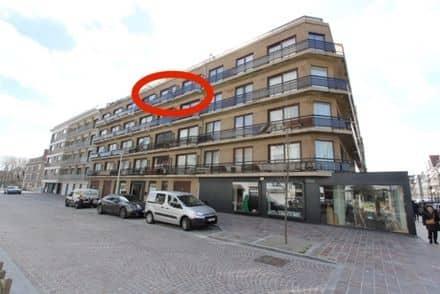 Studio flat for rent Nieuwpoort