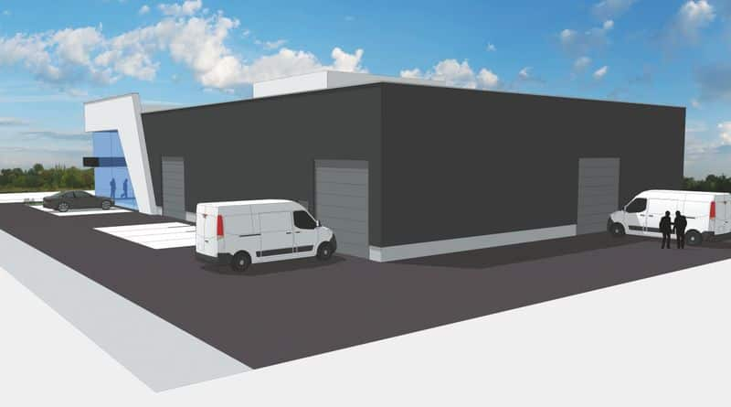 Warehouse for rent in Fleron