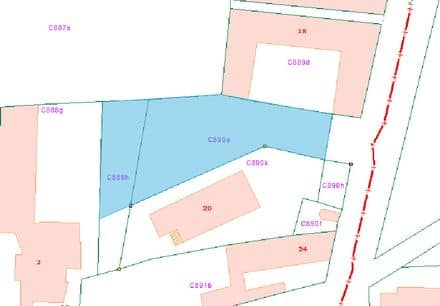 Building land<span>84500</span>m² for rent